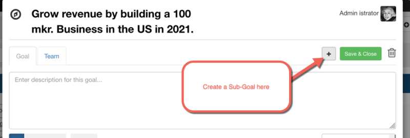 x-matrix sub goal