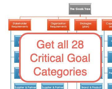 smart goal categories
